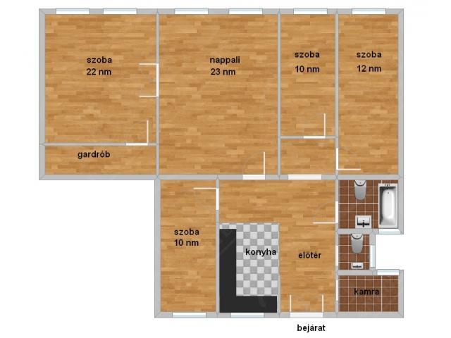 Eladó lakás 105m2 Budapest, IX. kerület