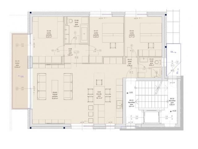 Eladó lakás 110m2 Budapest, III. kerület Testvérhegy